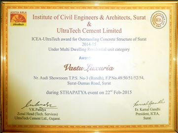 ICEA-Ultratech Awards- 2012-2013